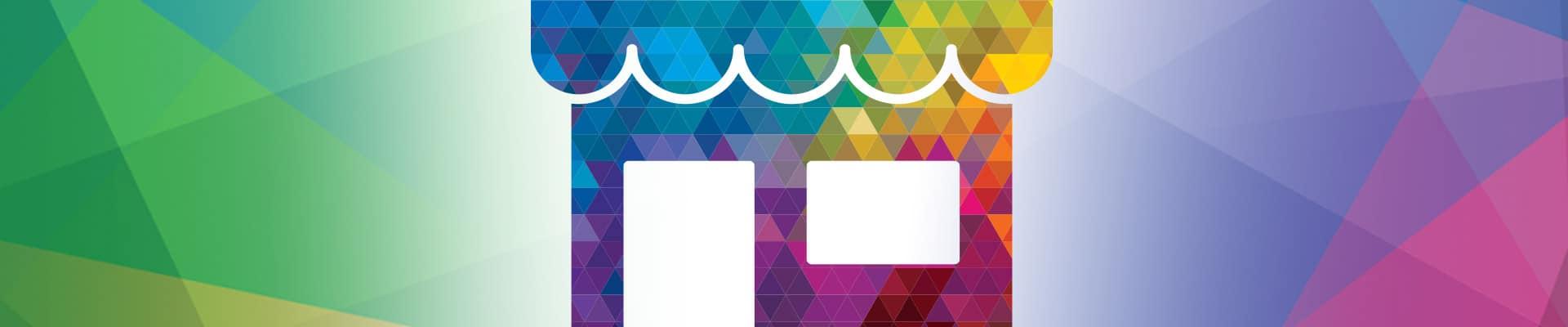 Kaleidoscope Signage Header Icon