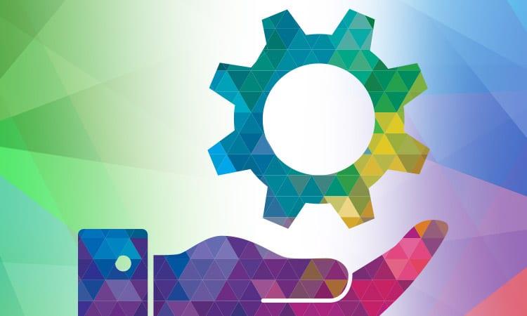 Kaleidoscope Mobile Header Marketing Services Icon